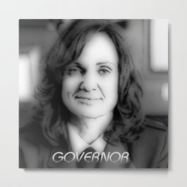 GOVERNOR Metal Print