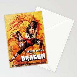 Seven Blows Of The Dragon Stationery Cards