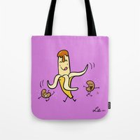 Banana, Cajeta, & Cashews Tote Bag