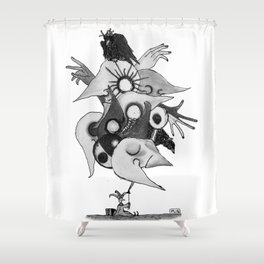 Globo. Shower Curtain