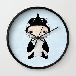 A Boy - Killer Whale Wall Clock