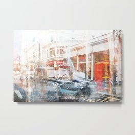 London Cars Metal Print