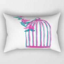 Birdcage Rectangular Pillow