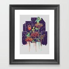 City of Flower Framed Art Print