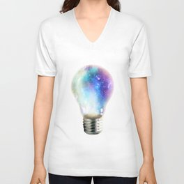 Light up your galaxy Unisex V-Neck