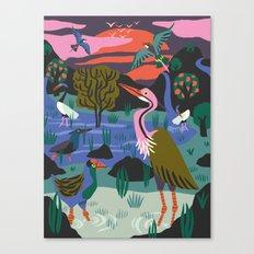 Bird Reserve Canvas Print