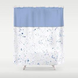 XVI - Blue 2 Shower Curtain