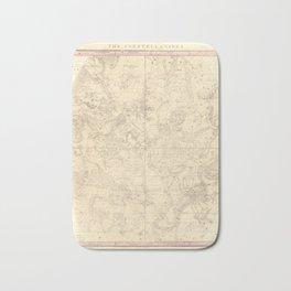 Burritt's Constellations (July, August, September) (1856) Bath Mat