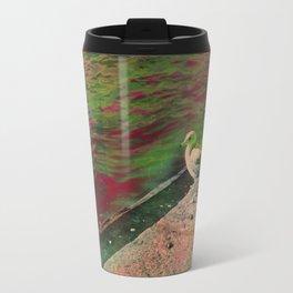 Disco seagul unicorn Travel Mug