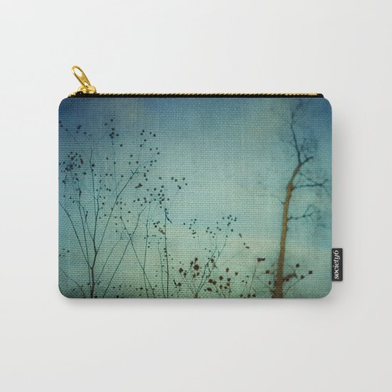Fleeting Moment - Blue Shades Carry-All Pouch
