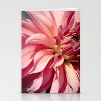 dahlia Stationery Cards featuring Dahlia  by A Wandering Soul