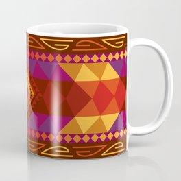Native American Warm Pattern Design Coffee Mug