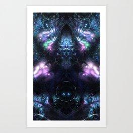 fractal: transcend Art Print