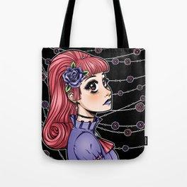 Pink Hair Gothic Lolita Tote Bag