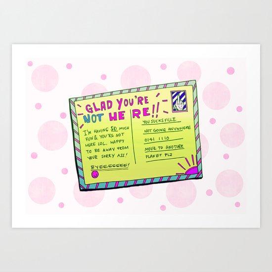 Sass Card Art Print