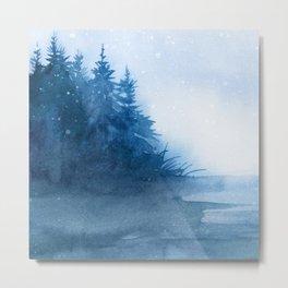 Winter scenery #7 Metal Print