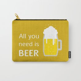 A glass of beer Carry-All Pouch