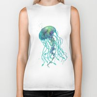 medusa Biker Tanks featuring Medusa  by Daniac Design
