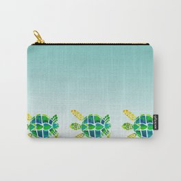 Swimming Baby Sea Turtles Carry-All Pouch