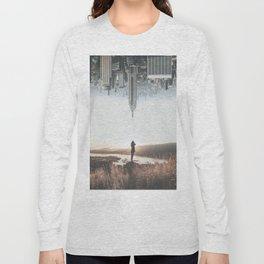 Between Earth & City Long Sleeve T-shirt