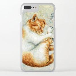 catnap Clear iPhone Case