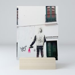 80's Punk Rock Graffiti Mini Art Print