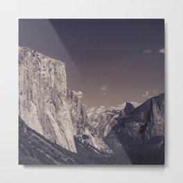 El Capitan & Yosemite Valley Metal Print