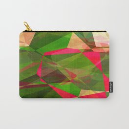 Pink Roses in Anzures 5  Abstract Polygons 2 Carry-All Pouch