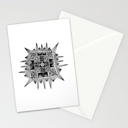 Square Star Stationery Cards