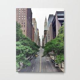 E 42nd St. Metal Print