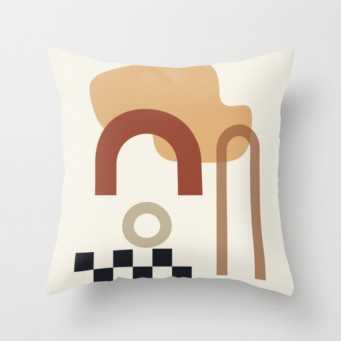 // Shape study #23 Throw Pillow