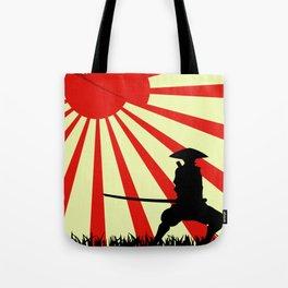 Japanese Art Sun Samurai Warrior Bushido Martial Arts Tote Bag