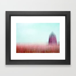 spire Framed Art Print