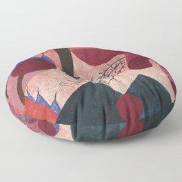 """Paul Klee """"Giftbeeren (Poisonous Berries) 1920"""" Floor Pillow"""