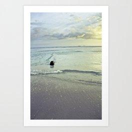 WATERcolorSHORE Art Print