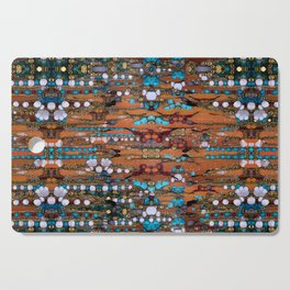 Abstract Indian Boho Cutting Board