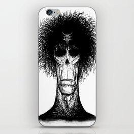 Zed Mercury: Psychopomp, portrait iPhone Skin