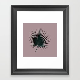Palm Leaf Edition Framed Art Print