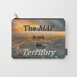 The Map is Not the Territory Carry-All Pouch