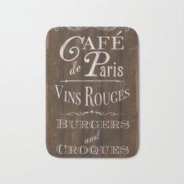 Cafe de Paris Bath Mat
