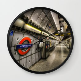 Going Underground Wall Clock