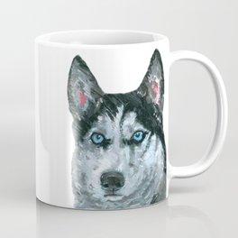 Husky printed from an original painting by Jiri Bures Coffee Mug