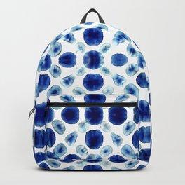 Shibori Circles Backpack