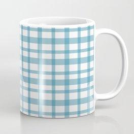 Blue checkered Coffee Mug