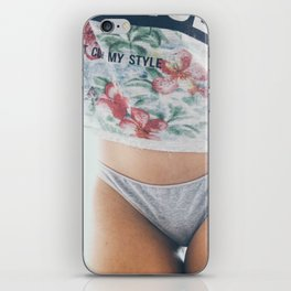Don't copy my style iPhone Skin