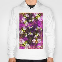 bees Hoodies featuring Bees by Marven RELOADED