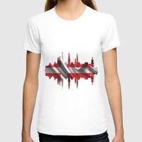 copenhagen T-shirts featuring Copenhagen city silhouette by South43