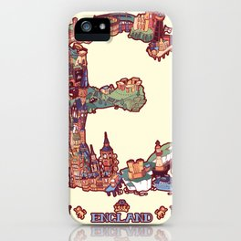 E is for England iPhone Case