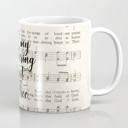 Bind my wandering heart to Thee Coffee Mug