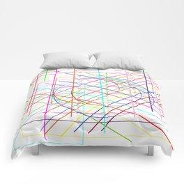 disarray. Comforters